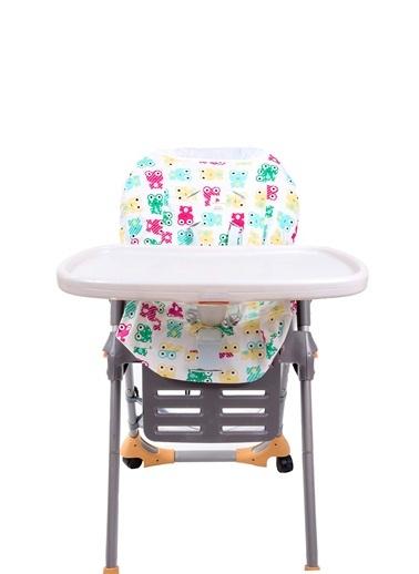 Mama Sandalyesi Kılıfı Funny Frog-Moms Cotton